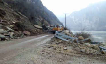 Alunecări de teren pe DN 57