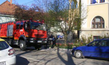Explozie la Primăria Oravița