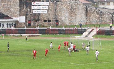 Metalul Reşiţa – FC Olt 1-1. Meci de luptă pe un teren greu, rezultat echitabil