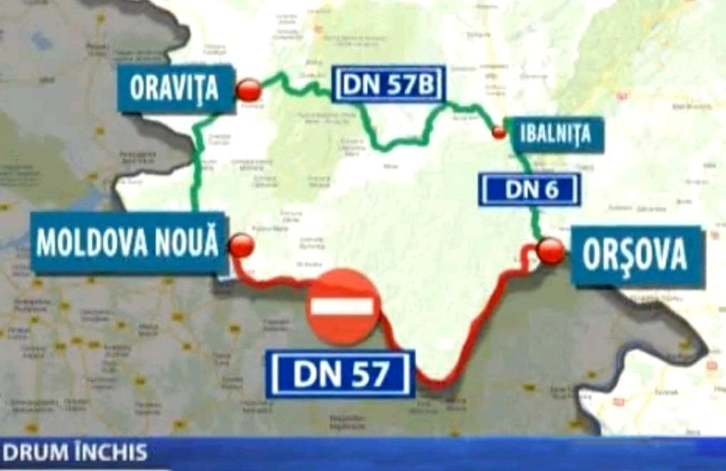 Drumul Din Clisura Dunării Este Blocat De Peste 4 Luni Carasanul