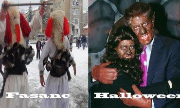 Făşancul versus Halloween.