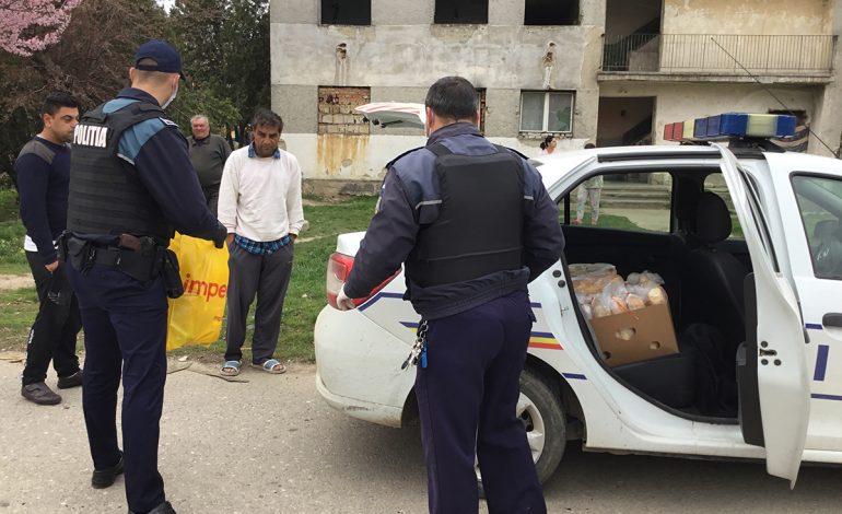 Ajutor umanitar pentru Rromii din blocurile de nefamilişti din Moldova Nouă!