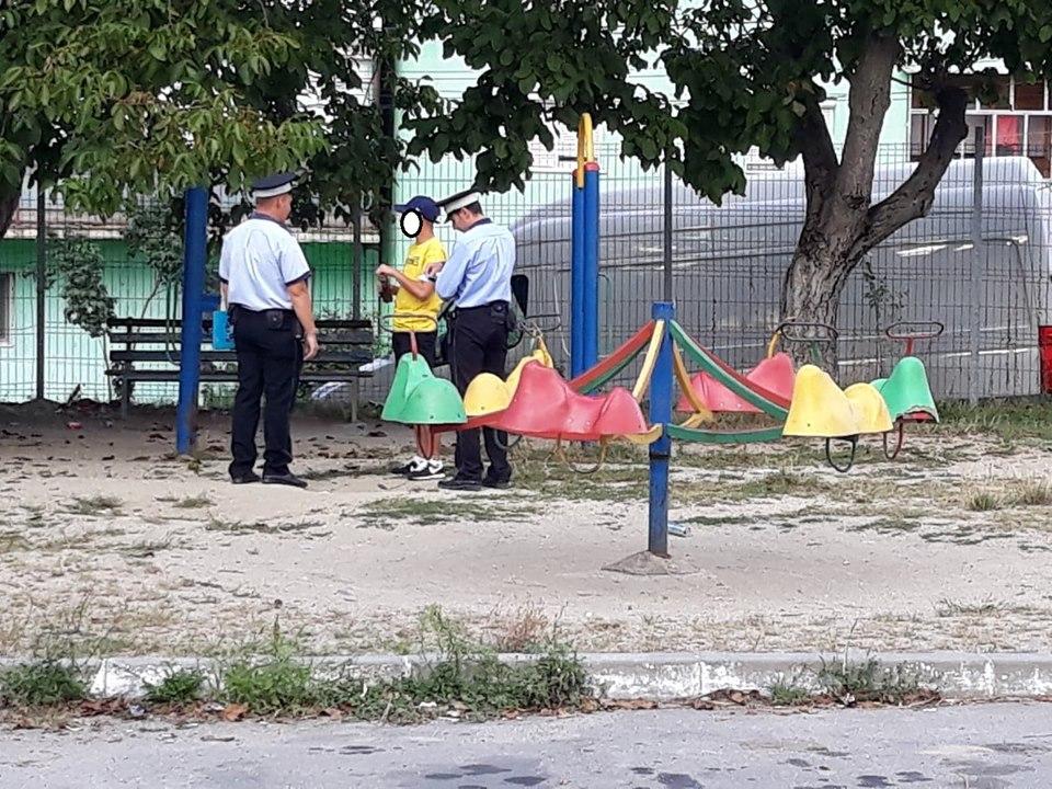Poliția Locală Bocșa de veghe în oraș