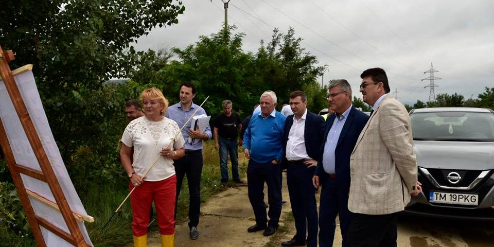 Ministrul apelor și pădurilor face o vizită de lucru în Caraș-Severin