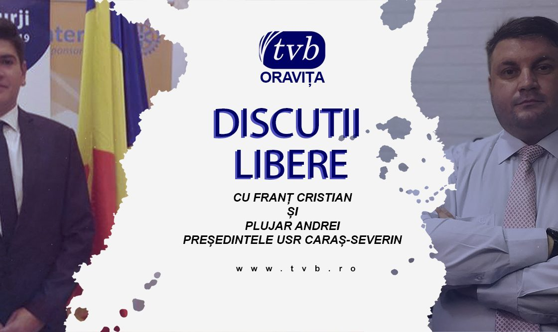 Andrei Plujar prezintă planurile USR pentru alegeri la Discuții Libere pe Oravița TV