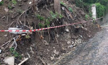 Strada Ciclovei din Oravita a luat-o la vale