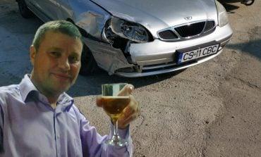 Dincă, agent şef poliţia rutieră Moldova Nouă implicat într-un accident rutier? A fost sau nu la volan?