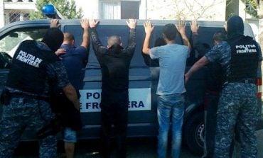 2 calauze din Moldova Noua si 9 cetateni turci prinsi de politisti de frontiera din Mehedinti