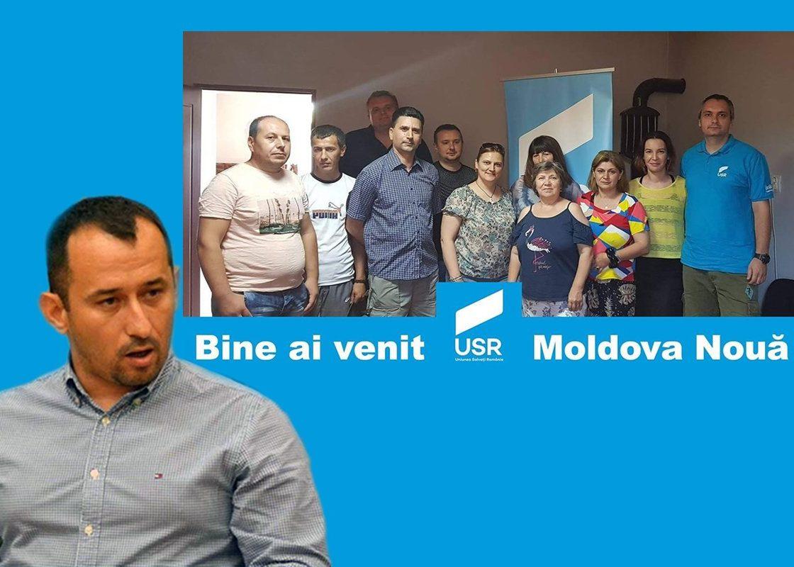 Torma începe consolidarea USR-ului la Moldova Nouă?