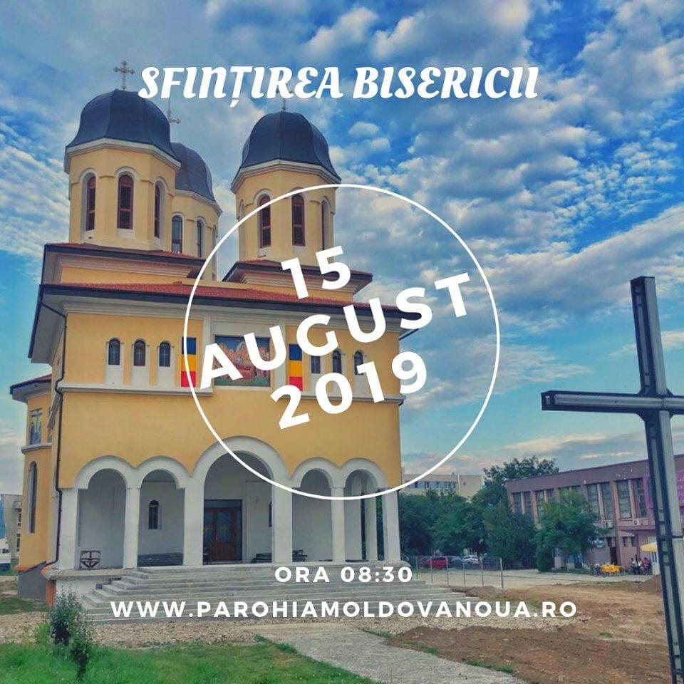 Moldova Nouă are o catedrală impunătoare pregătită de sfințire, Maica Domnului rămâne ocrotitoarea orașului