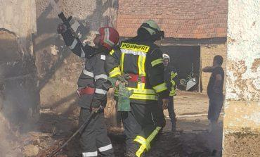 Incendiu în Doclin