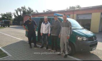 Trei kosovari, capturati  la frontiera