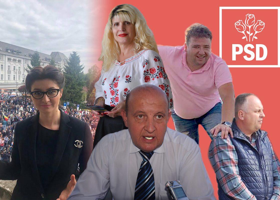 PSD Caras Severin a inceput curatenia de toamna ,Gabriel Dinu si Lenuta Ciurel executati!