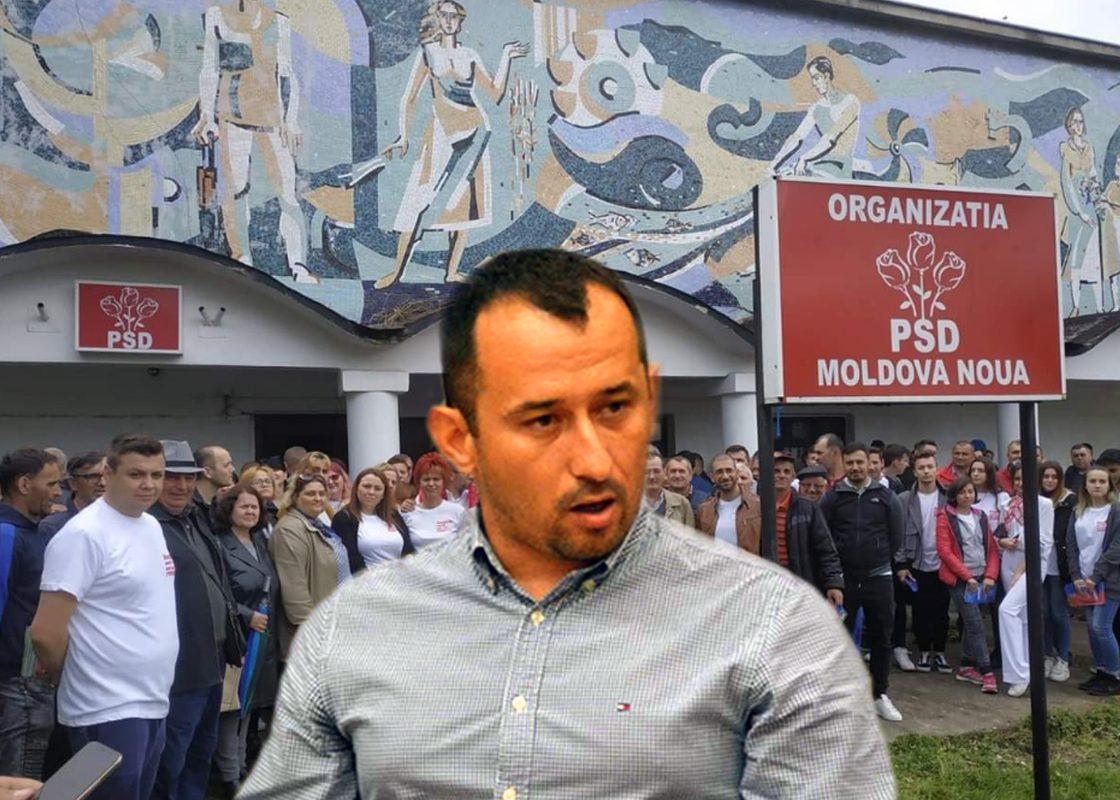 Soc în PSD Moldova-Nouă! Torma este oficial în PSD de mâine