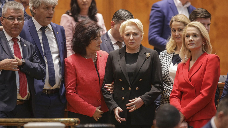 BREAKING Guvernul Dăncilă a picat, moțiunea de cenzură a trecut cu 238 de voturi