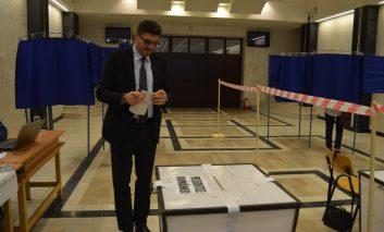 Prefectul Matei Lupu a votat
