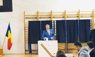 Ministrul de interne a votat la prima ora