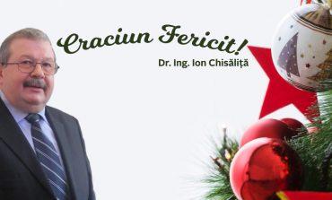 Crăciun Fericit!  Dr. Ing. Ion Chisăliţă