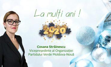 """""""Să aveţi mai multă credinţă şi speranţă în 2020"""".Cu drag ,Cosana Strainescu!"""