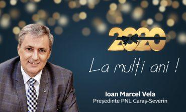 La mulți ani, România! La mulți ani, români!Ion Marcel Vela, presedintele Organizaţiei PNL Caraş-Severin