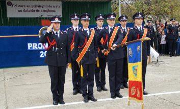 Candidații admiși la Şcoala de Subofiţeri de Pompieri,printre admisi sunt si 6 caraseni