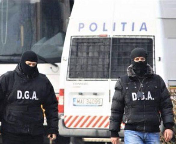 Actiune de mare amploare a DIICOT si  Directiei Nationale Anticoruptie in Caras-Severin