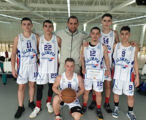 Baschetbaliștii de a la Dragalina pe podium