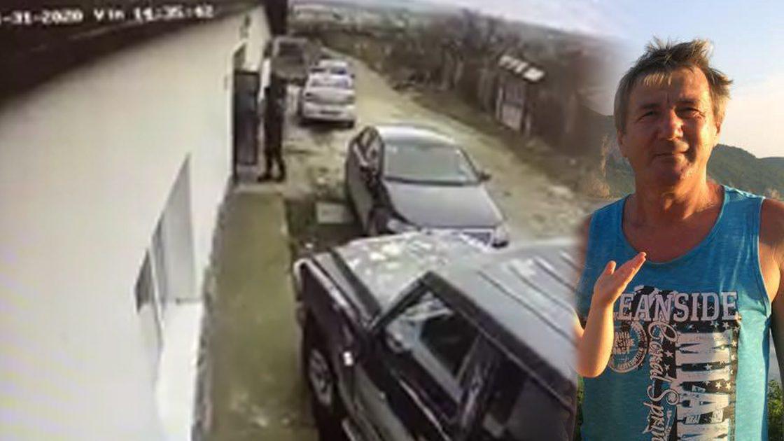 Ion Pop din Moldova Noua călcat de poliţişti!