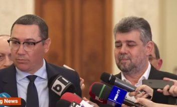 Pro România face ALIANȚĂ cu PSD și la locale,apoi fuziune!