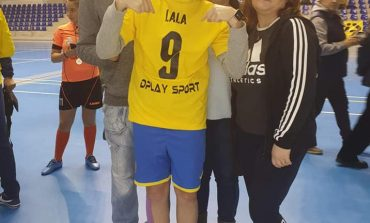 Gest frumos al fotbalistei Laura Rus