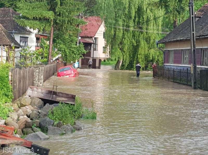 ,,Cod galben,,de inundatii pentru sud-vestul țării  !