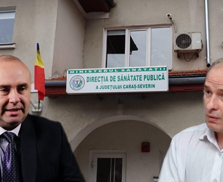 Talmeș-balmeș la DSP Caras-Severin!