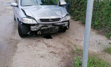 Accident auto pe strada Dunării din Moldova Nouă