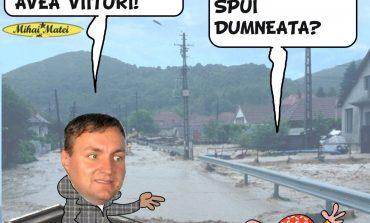Dezastrul fără precedent produs de inundaţii la Oravita!