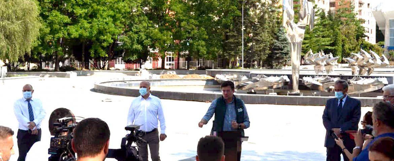 Marcel Vela si ministrul mediului, apelor si padurilor ,Costel Alexe in Caras-Severin!