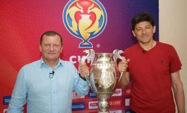 """Campania """"Cupa vine la tine"""" a început la Reşiţa! Dorinel Munteanu şi Miodrag Belodedici, protagoniştii primului reportaj"""