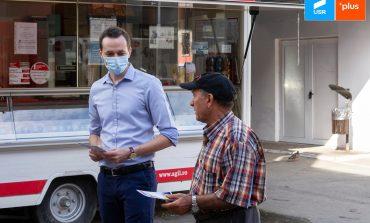 Daniel Toma, candidatul Alianței USR PLUS la Reșița, a luat la pas zonele mai puțin vizitate de administratorii urbei.
