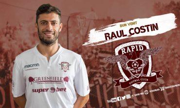 Raul Costin din Moldova Noua a revenit la Rapid!