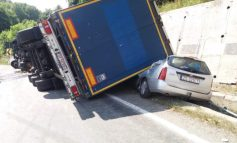 Accident spectaculos pe DN 6!