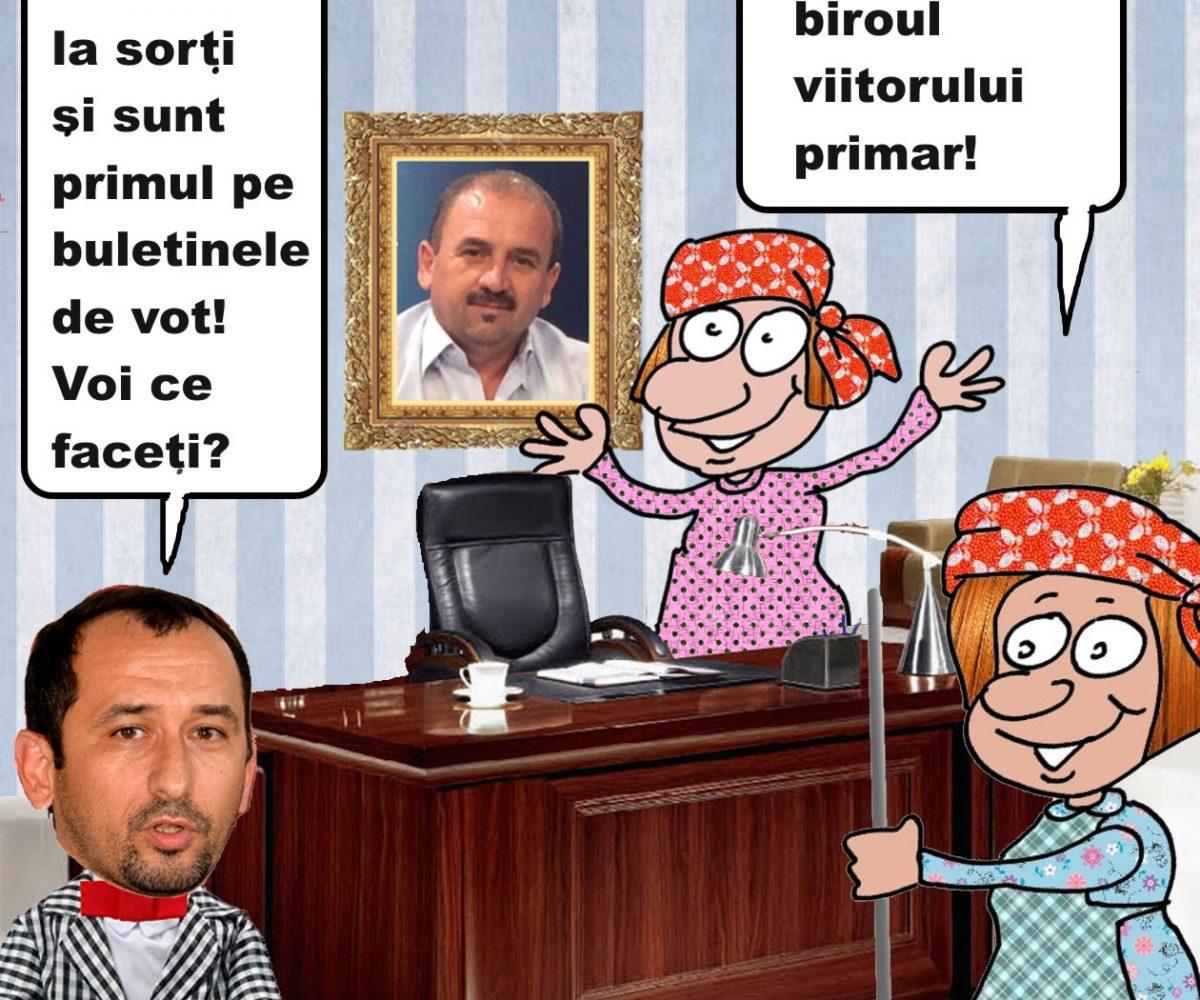 Adrian Torma,primul loc pe buletinele de vot!