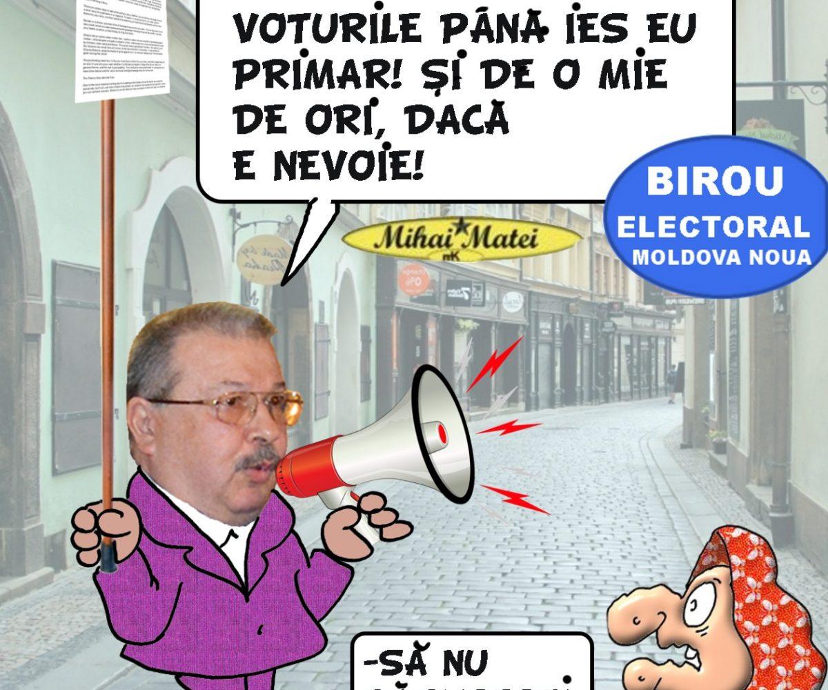 Ion Chisalita nu accepta infrangerea,,Numarul de voturi din urne nu este egal cu cel al votantilor de pe tabletele din sectii,,