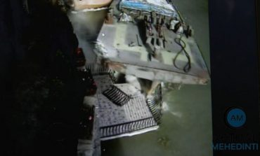 Grav accident naval un slep sub pavilion românesc a lovit, în plin, Mănăstirea Mraconia!