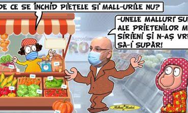 Piețe DA, mall-uri NU. Cum EXPLICĂ Raed Arafat DECIZIA de ÎNCHIDERE