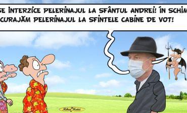 Ceremoniile religioase de la Peștera Sfântului Andrei,versus alegerile parlamentare!