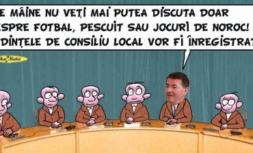 """Almăşan cere înregistrarea şedinţelor de Consiliu Local de 16 ani! """"Nu se vrea şi nu înţeleg ce au de ascuns"""""""