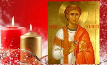 """Sfântului Ștefan sau  """"cununa lui Dumnezeu""""sarbatorit in fiecare an ,pe 27 decembrie!"""