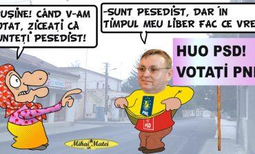 """Dumitru Ursu nu pleacă din PSD""""! Primarul declară însă că nu mai privește spre trecut!"""