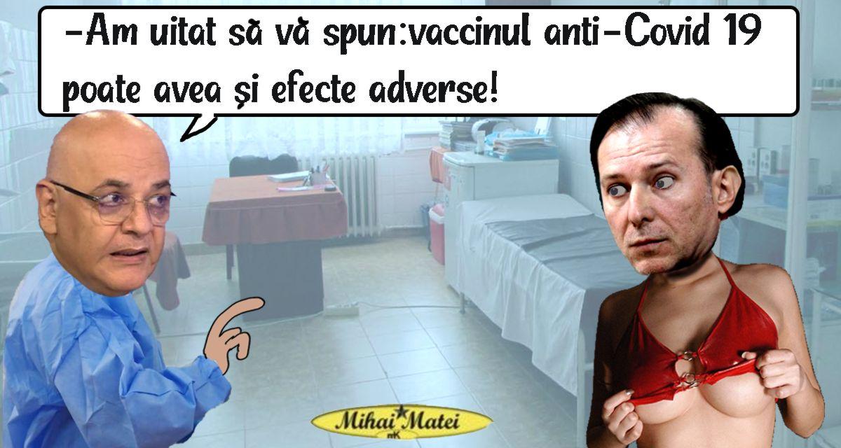 ATENTIE! Vaccinul anti-Covid are si efecte secundare!(Pamflet)