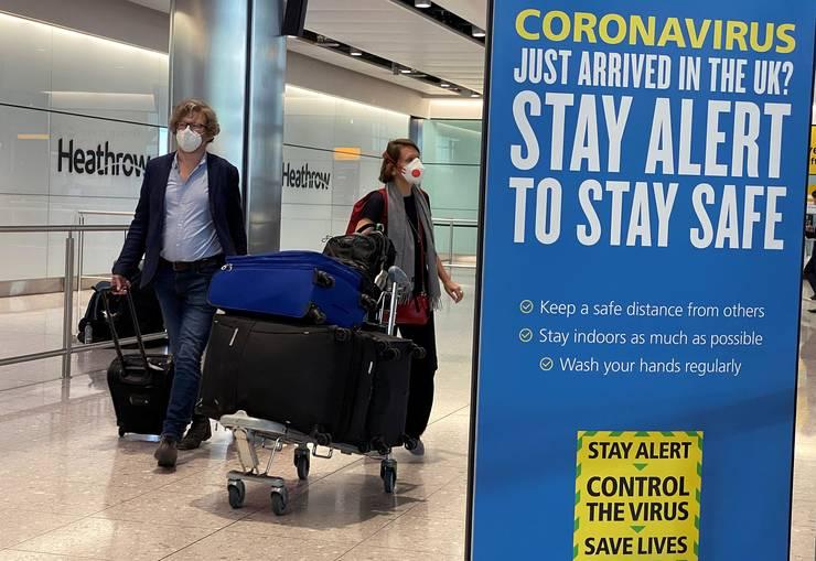Tot mai greu de intrat in Anglia !Test COVID negativ efectuat cu 72 de ore inaintea deplasarii!