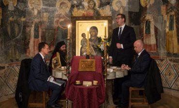 Președintele Serbiei Aleksandar Vučić, a petrecut Craciunul pe Sf.Munte Athos!